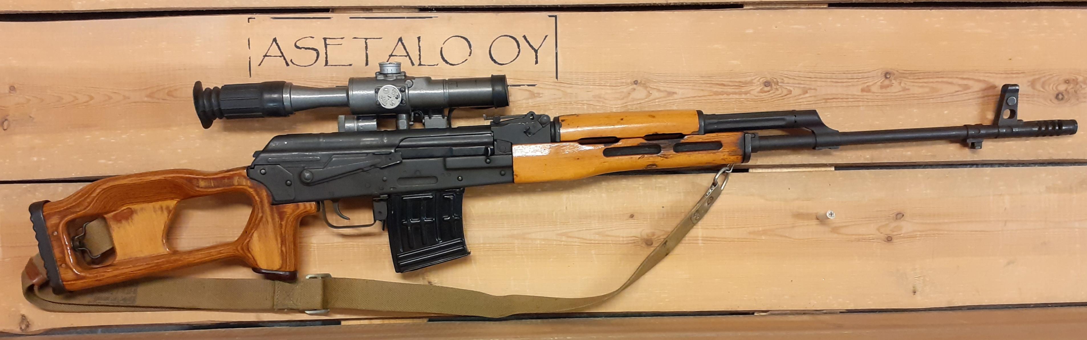 7 62x53r Kivääri