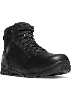 "DANNER LOOKOUT 23824 SIDE-ZIP 8""  BLACK 8,5 EE #612632144207"