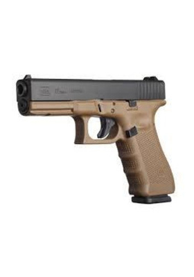GLOCK M17 GEN4 9MM PISTOOLI FDE / FLAT DARK EARTH 33674
