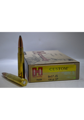 HORNADY 8X57 JS 195GR SP INTERLOCK 8229