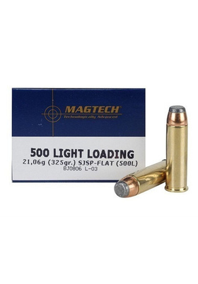 MAGTECH 500SW MAG SJSP 325GR LIGHT REV.PTR. #500L