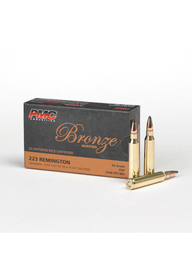 PMC 223 BRONZE 55GR SP 223SP