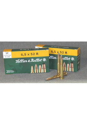 SELLIER & BELLOT 6,5X52R SP 7,6G KIV PTR S6552RS