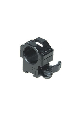 "UTG RQ2D1154 1""/2PCS MED PROFILE AIRGUN QD RINGS W/STOP PIN:22MM WIDE"