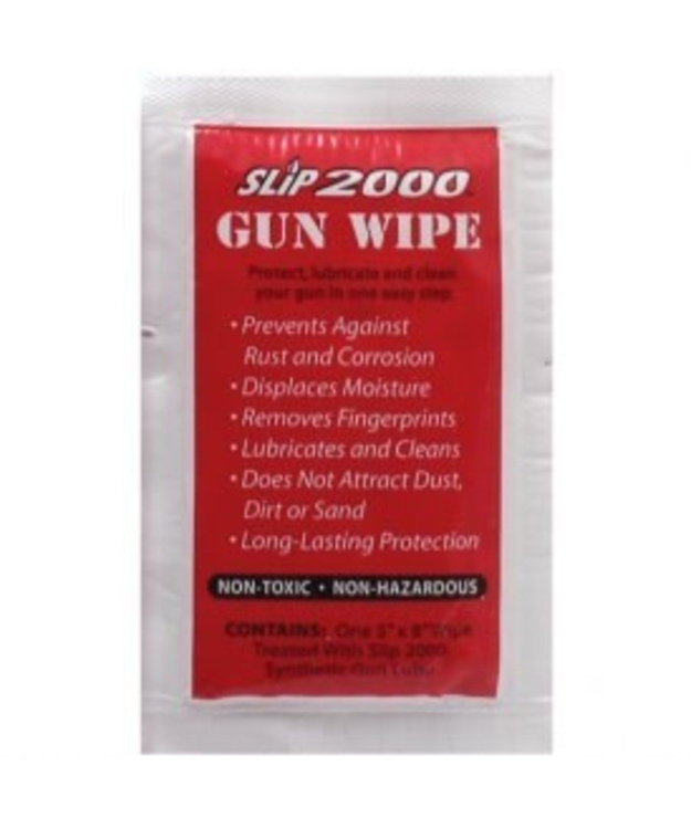 SLIP GUN WIPE 5x8 TREATED WIPE IN FOIL PACKET